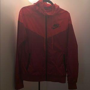 Nike Windbreaker Red